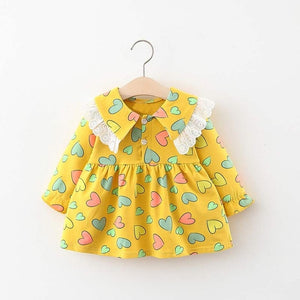 Baby Girl Dress Long Sleeve Autumn Winter Dress 1 Year Birthday Princess Dresses Toddler Girls Christmas Clothes Vestido - shopbabyitems