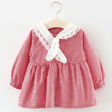 Load image into Gallery viewer, Baby Girl Dress Long Sleeve Autumn Winter Dress 1 Year Birthday Princess Dresses Toddler Girls Christmas Clothes Vestido - shopbabyitems