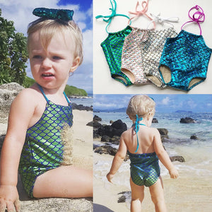Hot Selling Baby Girl Bikini New Kids Swimsuit Swimwear Bathing Suit Beachwear One-piece Bikinis - shopbabyitems