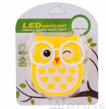 Load image into Gallery viewer, Mini Owl Baby Night light Automatic Sensor Light Control Lamp - shopbabyitems