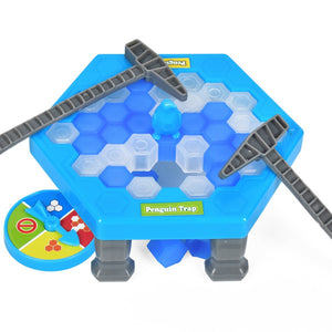 Mini Penguin Trap Board Game Ice Breaking Save The Penguin Party Game Parent-child Interactive Entertainment Table Toys Kid Gift - shopbabyitems