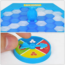 Load image into Gallery viewer, Mini Penguin Trap Board Game Ice Breaking Save The Penguin Party Game Parent-child Interactive Entertainment Table Toys Kid Gift - shopbabyitems