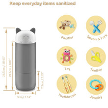 Load image into Gallery viewer, Mini UV Ozone Sterilizer Portable Baby Bottle Sterilizer Outdoor Travel Sanitizer - shopbabyitems