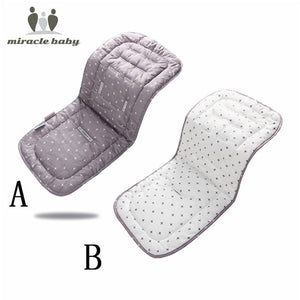 Miracle Baby Stroller Accessories Cotton Diapers Changing Nappy Pad Seat Carriages/Pram/Buggy/Car General Mat - shopbabyitems