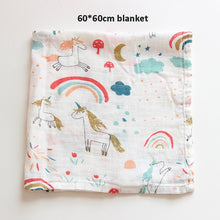 Load image into Gallery viewer, Muslin Cotton Baby Swaddles Soft Newborn Blankets Bath Gauze Infant Wrap Sleepsack Stroller Cover Play Mat Baby Deken - shopbabyitems