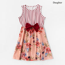 Load image into Gallery viewer, Mom and daughter dress Rosette Floral Sweet Cute Girl Dress Baby Girl Romper - shopbabyitems