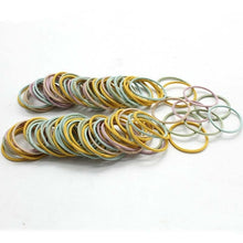 Load image into Gallery viewer, New 100PCS/Lot Girls Candy Colors Nylon 3CM Rubber Bands - shopbabyitems