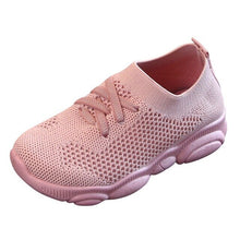 Load image into Gallery viewer, Fashion Children Flat Shoes Infant Kids Baby Girls Boys Solid Stretch Mesh Sport Run Sneakers Shoes - shopbabyitems