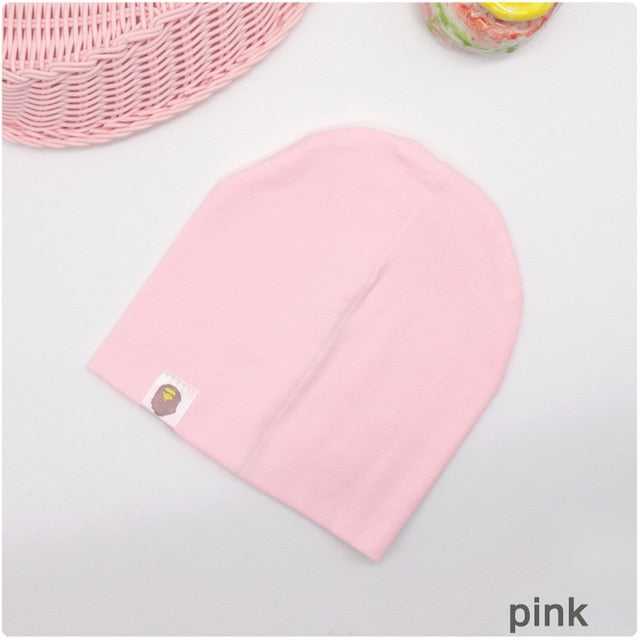New Baby Street Dance Hip Hop Hat Cotton Spring Autumn Toddler Hat Scarf - shopbabyitems