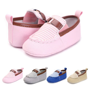 New Canvas Classic Sports Sneakers Newborn Baby Boys Girls First Walkers Shoes Infant Toddler Soft Sole Anti-slip Baby Shoes - shopbabyitems