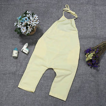 Load image into Gallery viewer, New Fashion Kids Baby Girls Strap Cotton Romper Toddler Sling Jumpsuit Harem Trousers - shopbabyitems