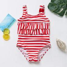 Load image into Gallery viewer, Baby swimsuit Summer 1PC Girls Bikini Lovely Child Swimsuit Beachwear Backless Kids - shopbabyitems