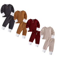Load image into Gallery viewer, New Toddler Baby Girl Boy Clothes Knitted Tops T-Shirt Leggings Pants Outfits Set - shopbabyitems
