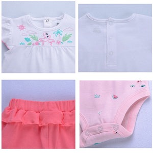 baby girl clothing princess 3 pieces infant girls clothes sets , 6M -24M outfit - shopbabyitems