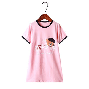 New summer girls clothing dresses 2-10Y cotton child dresses - shopbabyitems
