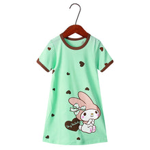 Load image into Gallery viewer, New summer girls clothing dresses 2-10Y cotton child dresses - shopbabyitems