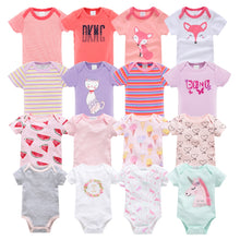 Load image into Gallery viewer, Newborn Baby Bodysuit Short Sleeve body dziecko 7pcs/set  Body bebe Pyjamas Baby Girl Clothes ropa bebe Body Baby Boy Bodysuits - shopbabyitems