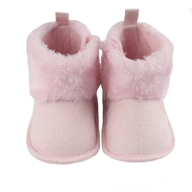 Newborn Baby Boots First Walkers Tassel Baby Girls Shoes Early Winter/Autumn Warm Prewalkers Soft Sole Booties Prewalker Boot - shopbabyitems