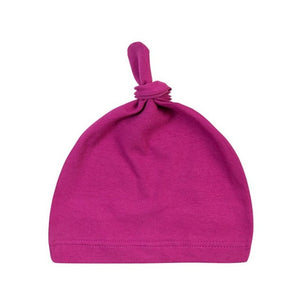 Newborn Baby Cotton Knot Beanies Toddler Girls Sleep Caps - shopbabyitems