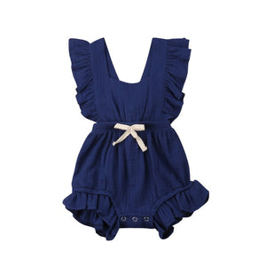 Romper Backcross Jumpsuit Outfits Sunsuit - shopbabyitems