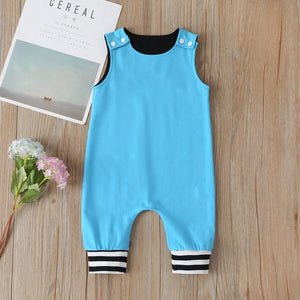 Newborn New Baby Kids Toddler Boys Girl Clothes Sleeveless Short and Long Romper Floral Cotton Printed Jumpsuit Playsuit Sunsuit - shopbabyitems
