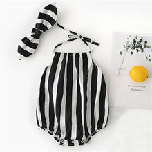 Load image into Gallery viewer, Newborn Rompers Baby Girl Clothes Sleeveless Backless Summe - shopbabyitems