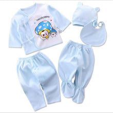 Load image into Gallery viewer, Newborn baby suits pure cotton ( 5pcs/set)  baby fashion underwear 15 colors sets Infant unisex suit - shopbabyitems