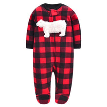 Load image into Gallery viewer, Newborn baby boys spring baby Romper girl romper Infant fleece Jumpsuit - shopbabyitems