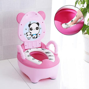 Portable Baby Pot Cute Toilet Seat Pot For Kids Potty Training Seat - shopbabyitems