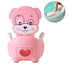 Load image into Gallery viewer, Portable Baby Pot Cute Toilet Seat Pot For Kids Potty Training Seat - shopbabyitems