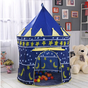 Portable Play Kids Tent Children Indoor Outdoor Ocean Ball Pool Folding Cubby Toys Castle Enfant Room House Gift For Kids - shopbabyitems