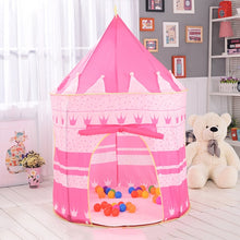 Load image into Gallery viewer, Portable Play Kids Tent Children Indoor Outdoor Ocean Ball Pool Folding Cubby Toys Castle Enfant Room House Gift For Kids - shopbabyitems