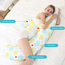 Load image into Gallery viewer, Pregnancy Body Pillow Multifunction Breastfeeding U Shape Maternity Pillows Pregnant Women - shopbabyitems