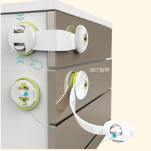 Load image into Gallery viewer, Protection Baby Safety Kids Door Lock Refrigerator Cabinet Magnetic Child Lock Baby Safety Newborn Care Child Finger Protector - shopbabyitems