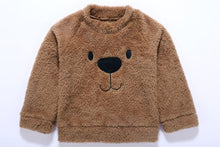 Load image into Gallery viewer, Pudcoco Cute Bear Kids Baby Girl Boy Top Blouse Sweatshirt Thick Warm Clothes Long Sleeve Cashmere Hoodies - shopbabyitems