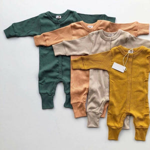 Newborn Baby Girl Boy Clothes Kids Knitted Long Sleeve Autumn Winter Romper - shopbabyitems