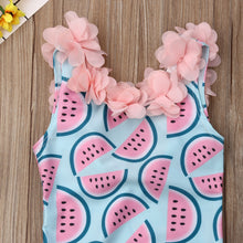 Load image into Gallery viewer, Toddler Infant Baby Girls Watermelon Swimsuit Swimwear Swimming Bikini One-Piece Bodysuit Swimwears for 0-4Years Girl - shopbabyitems