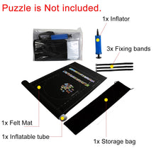 Load image into Gallery viewer, Puzzles Mat Jigsaw Roll Felt Mat Play mat Puzzles Blanket For Up to 1500 Pieces - shopbabyitems