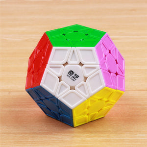Magic cubes stickerless speed professional 12 sides puzzle cubo educational toys - shopbabyitems