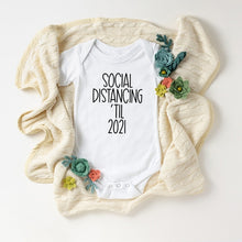 Load image into Gallery viewer, QUICK SHIP Simple Baby Coming Soon 2021 Onesie Pregnancy Announcement Baby Announcement Pregnancy Reveal Bodysuits - shopbabyitems