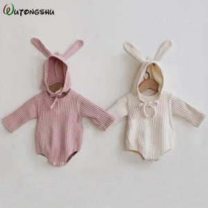 Rabbit Baby Clothes Girl Romper Baby Spring Clothes - shopbabyitems