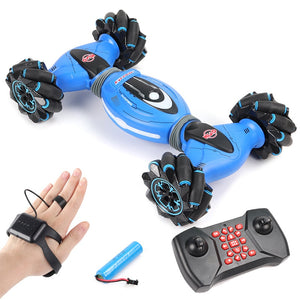 Remote Control Stunt Car Gesture Induction Twisting Off-Road Vehicle Light Music Drift Dancing Side Driving RC Toy Gift for Kids - shopbabyitems