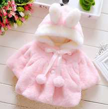 Load image into Gallery viewer, Baby Rabbit Hood Coat - shopbabyitems