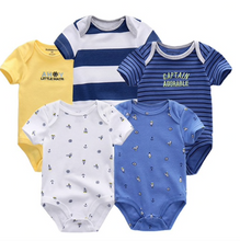 Load image into Gallery viewer, Baby's Marine Onesie Set (5pcs) - shopbabyitems