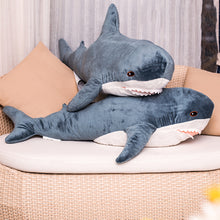 Load image into Gallery viewer, Shark Plush Toys Popular Sleeping Pillow Travel Companion Toy Gift Shark - shopbabyitems