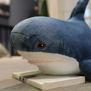 Shark Plush Toys Popular Sleeping Pillow Travel Companion Toy Gift Shark - shopbabyitems