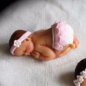 3D Sleep baby handmade soap mold 7*5*2.5cm - shopbabyitems