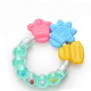 Silicone Teether Fruit Shape Baby Teething Silicone Teething Toys Infant Chew Tooth Toys - shopbabyitems