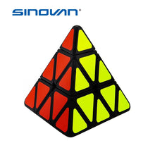 Load image into Gallery viewer, Speed Cubes Sticker cubo Less Pyramid Magic Cubes Puzzle Toys for Adults Learning Magical Puzzles Toys for Children - shopbabyitems