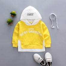 Load image into Gallery viewer, Spring Autumn Children Clothes Baby Boys Girls Cotton Leisure Hooded Sweatshirts Kids - shopbabyitems